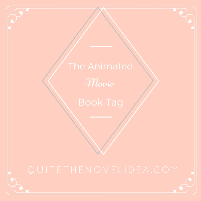 The Animated Movie Book Tag