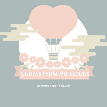 {Quotes from the Clouds} Romance