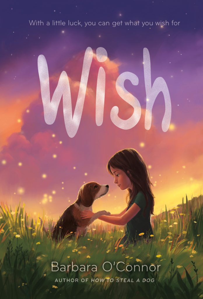 {Blog Tour, Handlettering, Giveaway} Wish by Barbara O'Connor