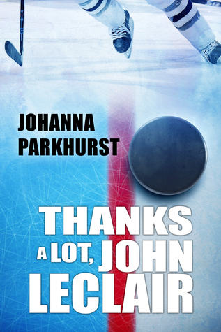 Bee Reviews THANKS A LOT, JOHN LECLAIR by Johanna Parkhurst