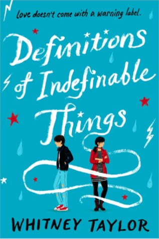 Bee Reviews DEFINITIONS OF INDEFINABLE THINGS by Whitney Taylor // I Got Punched In The Feels & I Liked It