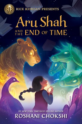 {Leah Reviews} Aru Shah and the End of Time by Roshani Chokshi