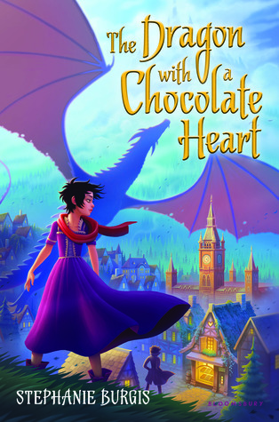 {Leah Reviews} The Dragon With a Chocolate Heart by Stephanie Burgis