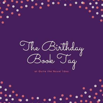 The Birthday Book Tag